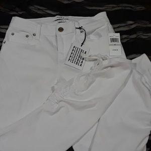 NWT Pistola White Skinny Jeans